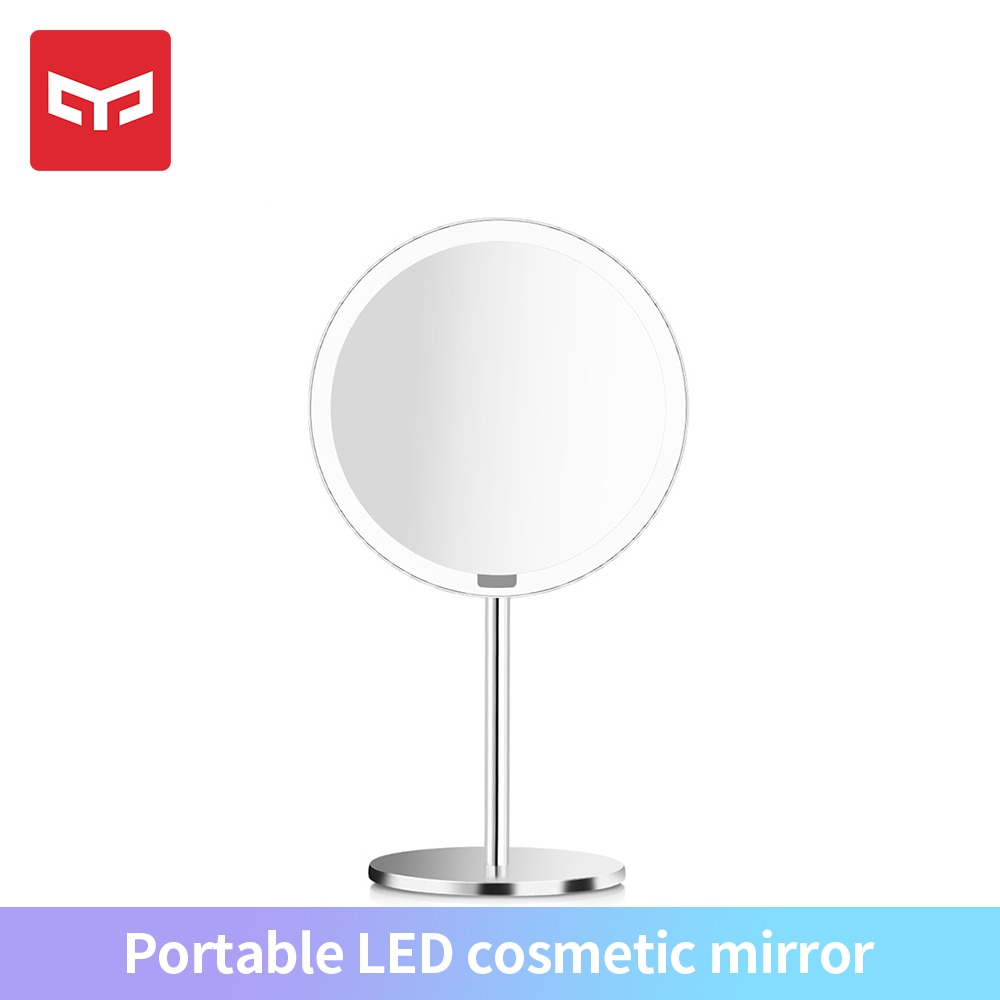 Xiaomi Yeelight נייד LED איפור מראה עם אור ניתן לעמעום חכם חיישן תנועת לילה אור עבור Xiomi חכם בית womenMake עד