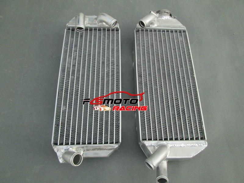 L&R Aluminum Radiator For Suzuki DRZ400E drz400 DRZ 400 MODEL K2/K3/K4  2002-2007 07 06 05 04 03 02