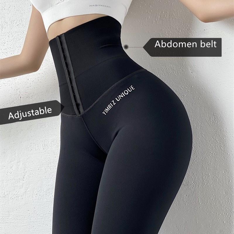 Pantalones de Yoga de cintura alta para mujer de zapatillas de entrenamiento para Fitness gimnasio... correr y ropa deportiva