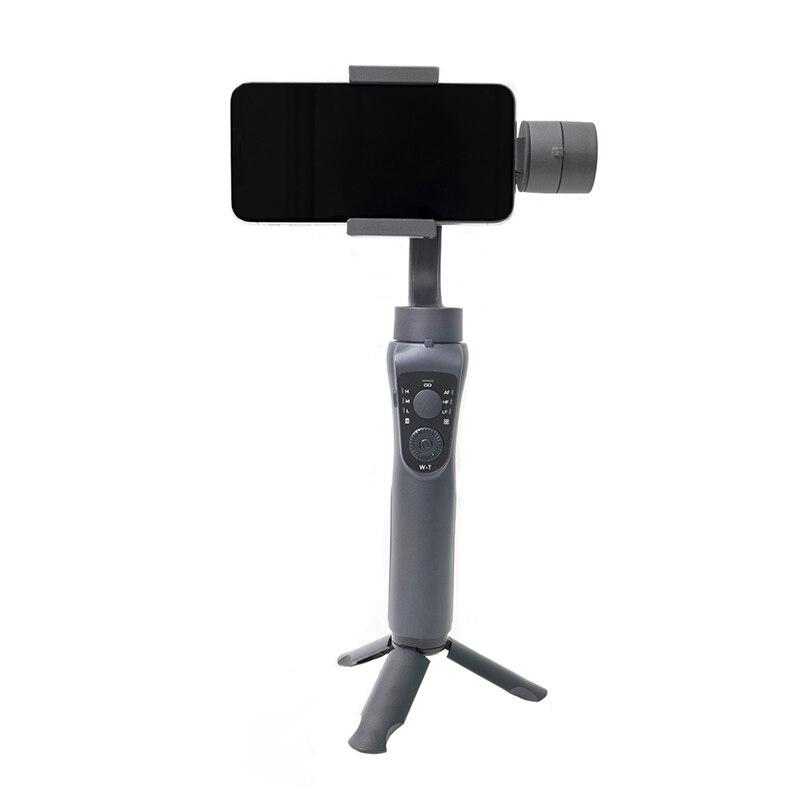 Proker Gimbal Stabilizer Tripod Selfie Stick 3 Axis Gimbal Handheld Bluphone Stabilizer For Tiktok Live Vlog