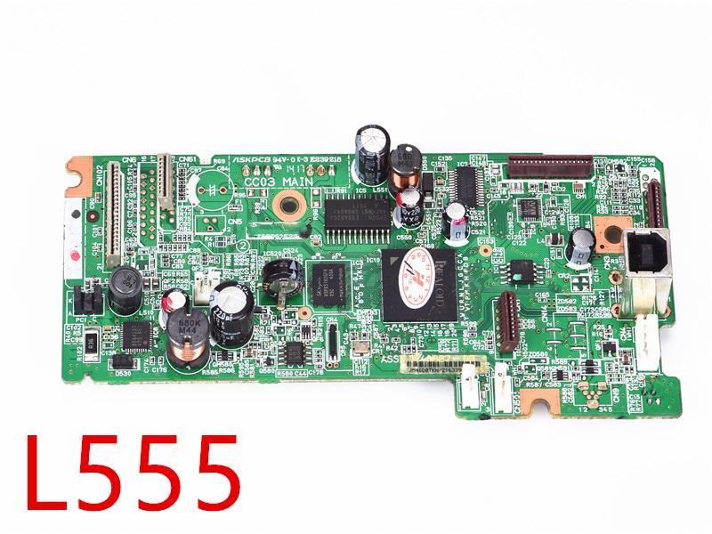 Placa base para Epson L220 L355 L100 L210 L565 L300 L110 L455 L555 L380 L383 L350 L351 L200 L360 impresora de placa madre