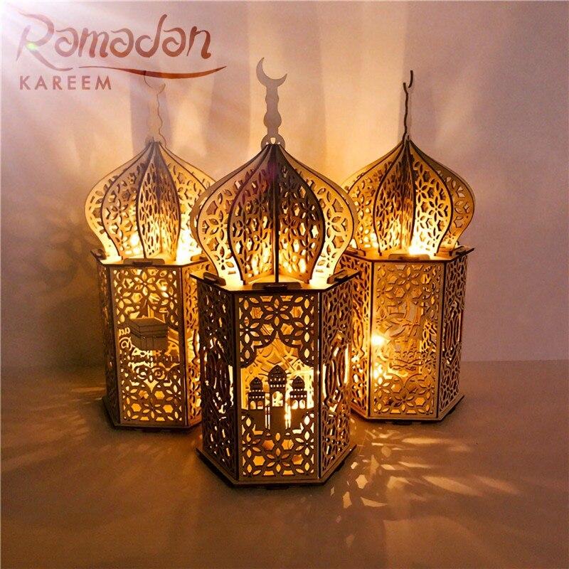 ИД светильник дворец, отлично подходят для украшения ИД Мубарак украшения на Рамадан исламский мусульманский вечерние Декор Ид аль-Адха Рамадан с декором