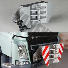 Crochet de remorque en métal pour 1/14 échelle Tamiya télécommande camion tracteur Volvo FH16 Globetrotter 750