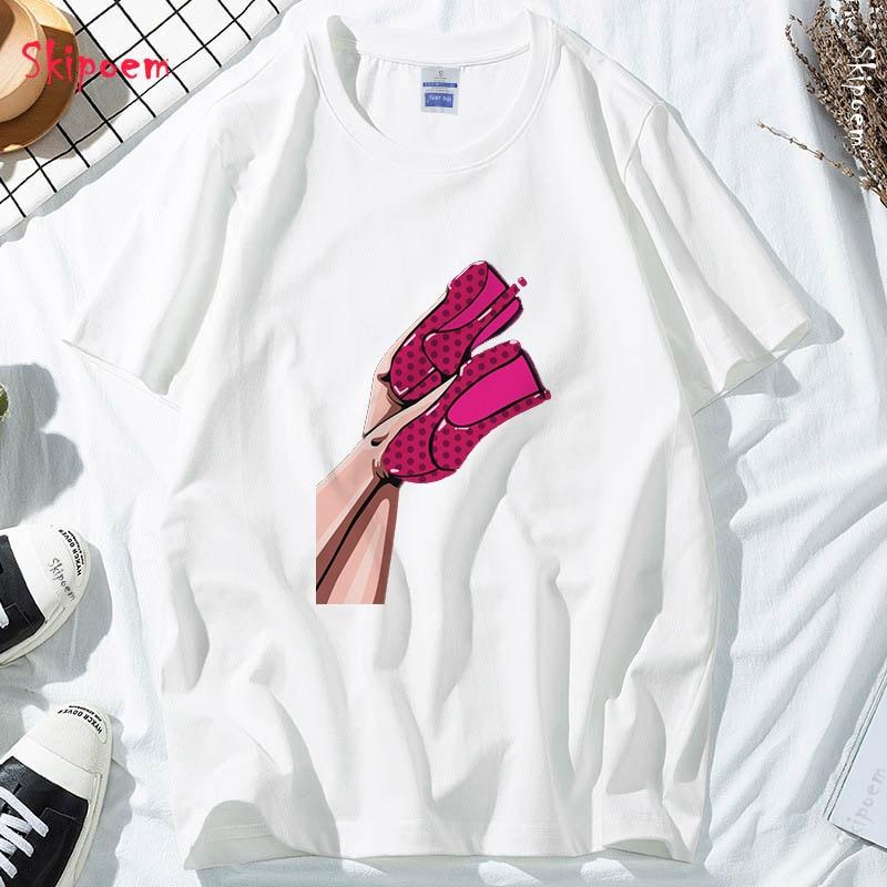 Женская футболка в стиле Харадзюку, винтажная Эстетическая футболка в стиле панк, Kawaii, готика, корейский стиль, уличная одежда