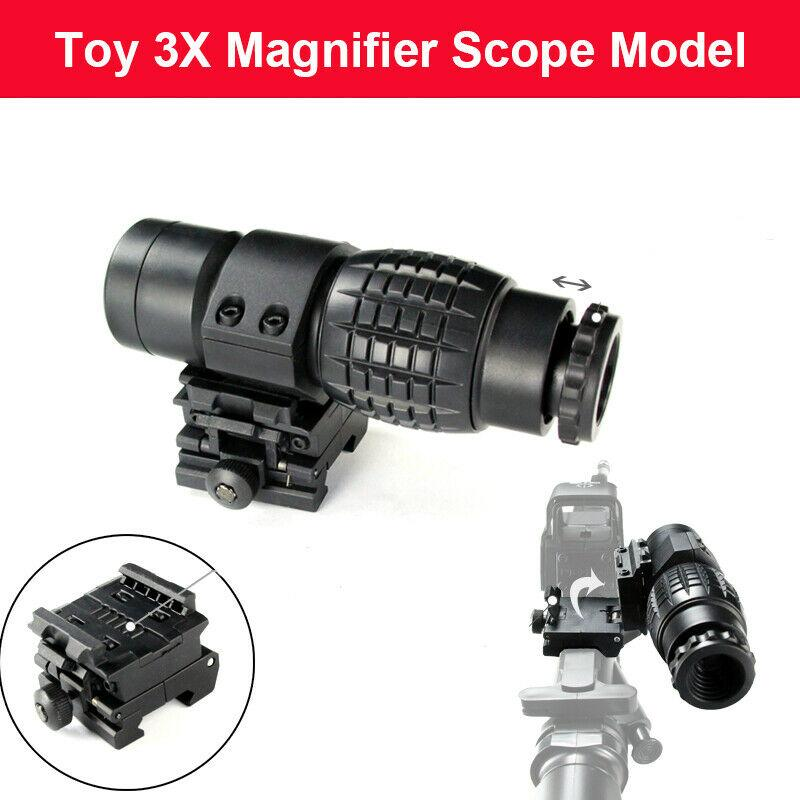 ZHENDUO 3X Magnifier Sight Scope for 20-21mm Rail Free shipping  toy gun accessories BOY TOY wolfslaves adjustable bd t pod2 grip toy grip accessories for nerf toy gun 20 21mm guide rail