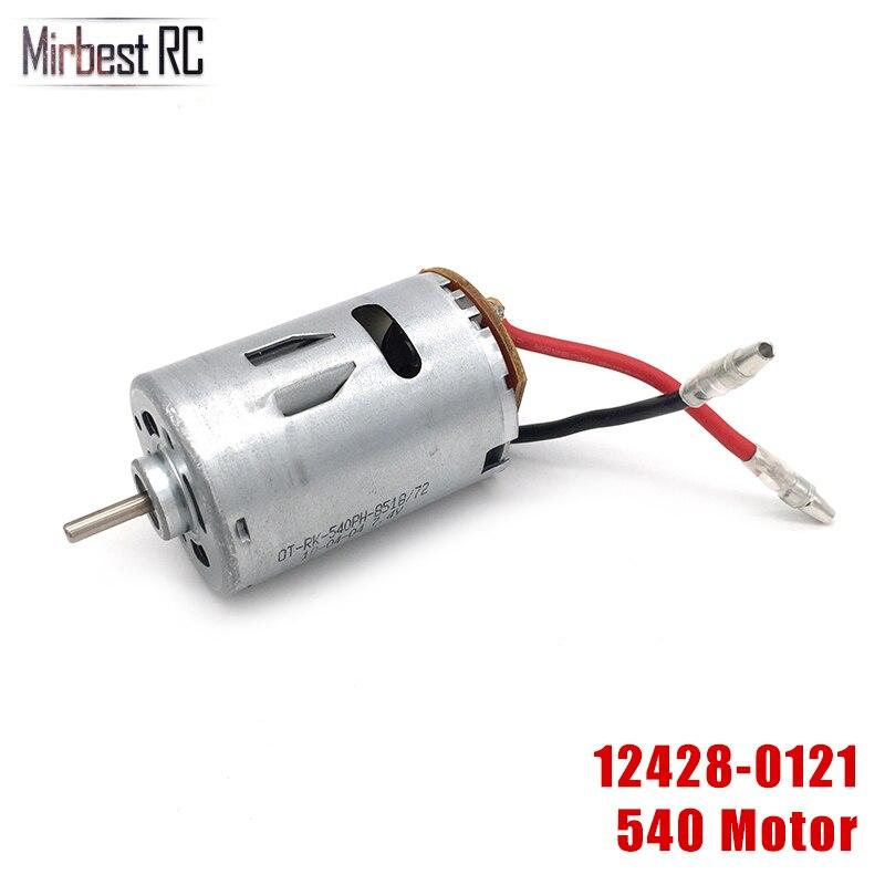 Wltoys 12428 12423 1/12 RC Car Spare Parts 540 Motor 0121