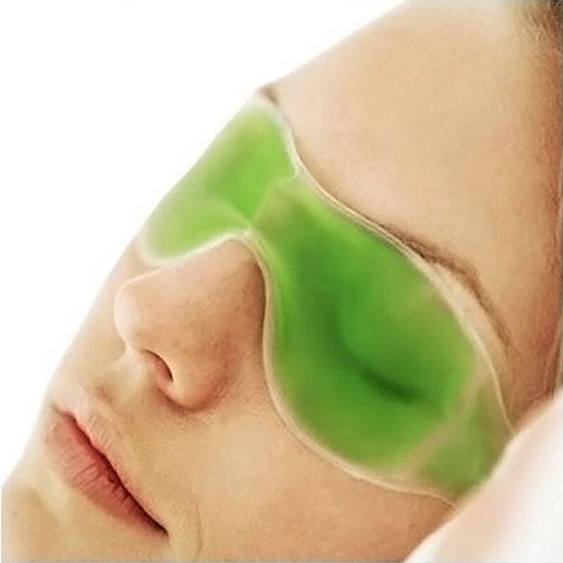 Ice EyeShade Cold Sleeping Eye Mask Compress Gel Eye Fatigue Relief Cooling Relaxation Eye Shield Ca