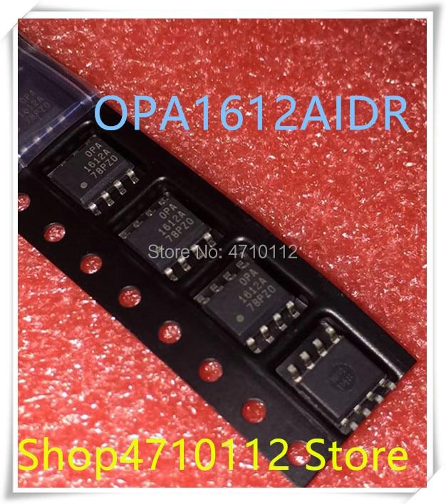 Nuevo 10 unids/lote OPA1612AIDR OPA1612A OPA1612 OPA 1612A OPA1612AID SOP8 IC