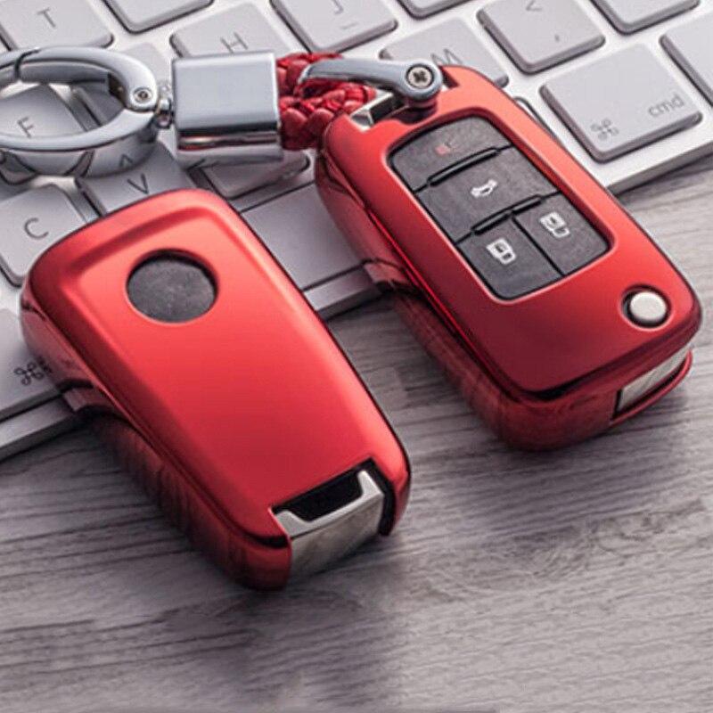 TPU suave coche caso clave para Buick Chevrolet Cruze Aveo Trax Opel Vauxhall J Mokka Encore Astra Corsa Meriva Zafira Antara