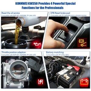 Image 4 - Сканер KONNWEI KW350 Obd2, профессиональный полнофункциональный диагностический сканер для VW/AUDI/SKODA/SEAT VW, OBD2 сканер VAG, Golf