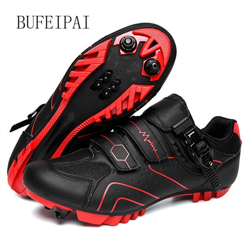 2020 zapatos de ciclismo sapatilha ciclismo mtb hombres zapatillas mujeres bicicleta de montaña zapatos de auto-bloqueo superstar original zapatos de bicicleta
