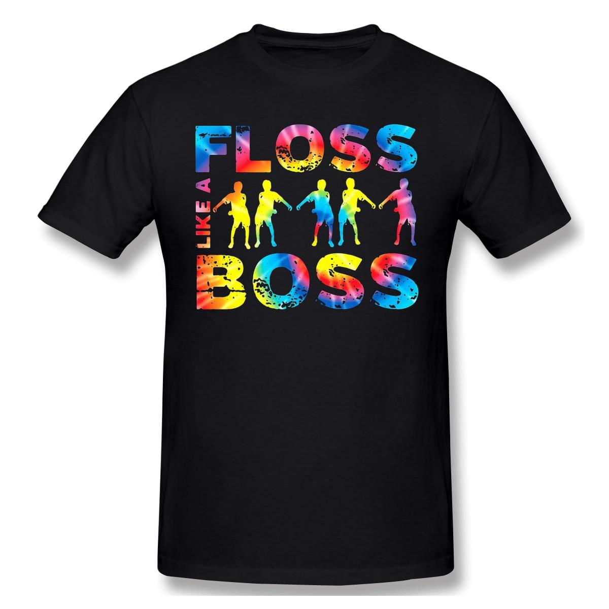 Boss, camiseta divertida para hombre, Camiseta de algodón informal con cuello redondo de verano, camiseta forniter gráfica, Camiseta con cuello redondo, Envío Gratis