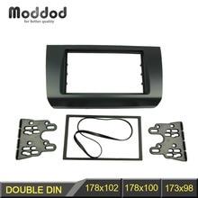 Dubbel Din Radio Fascia Voor Suzuki Swift 2004-2009 Dvd Stereo Panel Frame Dash Montage Trim Kit Gezicht Adapter