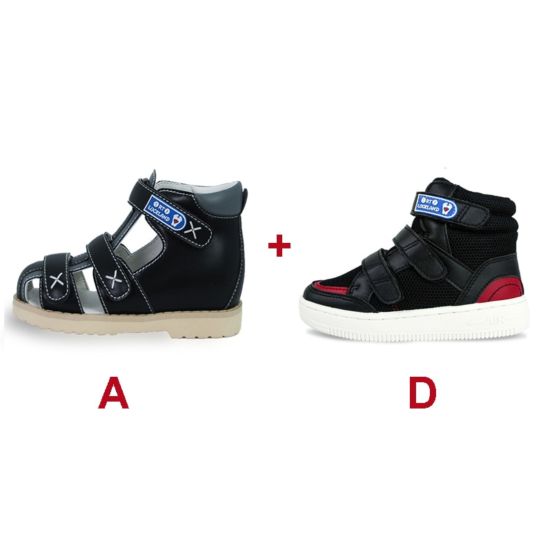 Boys Girls  Sneakers Summer Autumn Kids Sandals Children Flatfoot Footwear Leisure Corrective Orthopedic Shoes for Toddlers enlarge