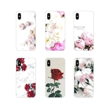 Accessories Phone Shell Covers Rose and Peony For Xiaomi Redmi Note 3 4 5 6 7 8 Pro Mi Max Mix 2 3 2
