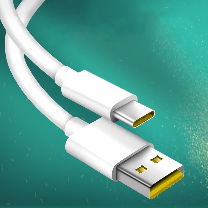 Original 100CM 65W Super dardo rápido Cable de carga de datos para VOOC Cable rápido para verdadero yo X 5X5 6 X50 X3 X5 Pro X50m X50t V5 C3 OPPO