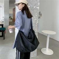 summer ladies messenger cloth bag single shoulder big bag 2021 new fitness storage bag large capacity travel sports female bag