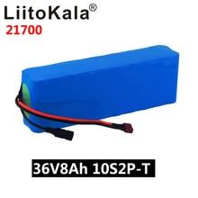 LiitoKala 36V 8AH 21700 4000mah 10S2P 전기 자전거 스쿠터 36V Ebike 배터리에 대 한 전기 자전거 배터리