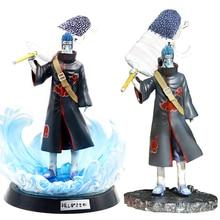 Nouveau dessin animé Naruto Akatsuki Hoshigaki Kisame Statue PVC figurine Naruto Figure danime jouets à collectionner 27cm