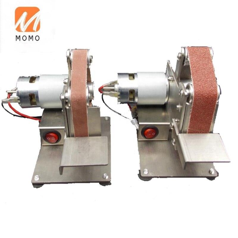 Desktop mini polishing machine fixed angle knife sharpening belt grinding machine