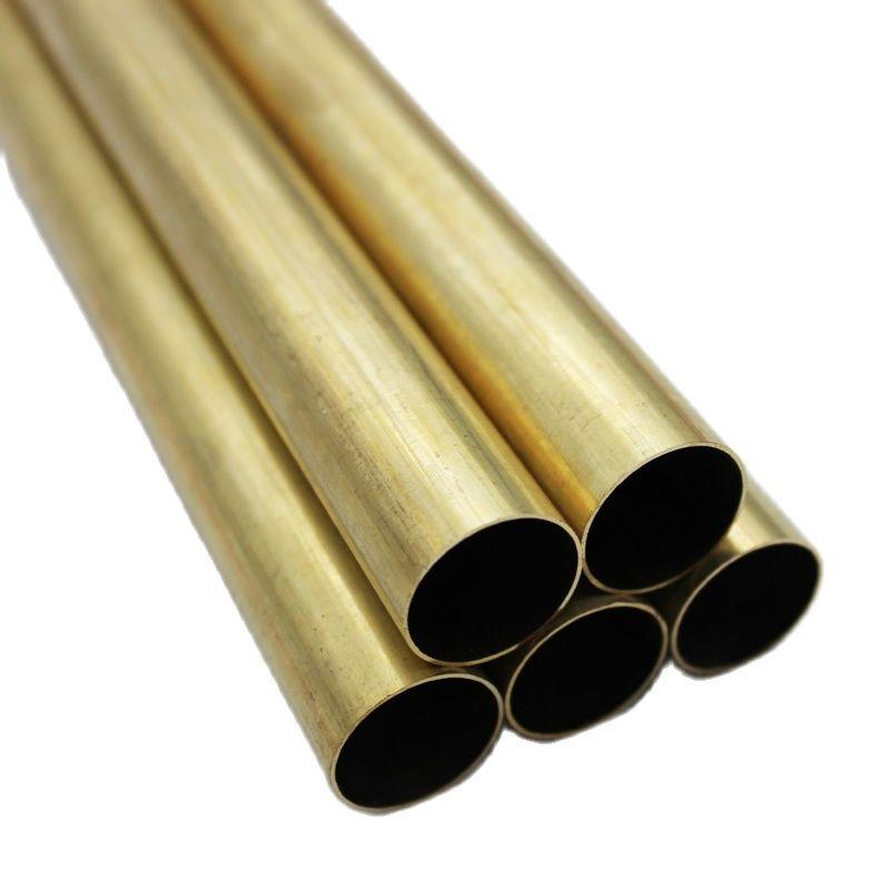5 шт., латунные трубы, круглые трубы, наружный диаметр, внутренний диаметр, длина
