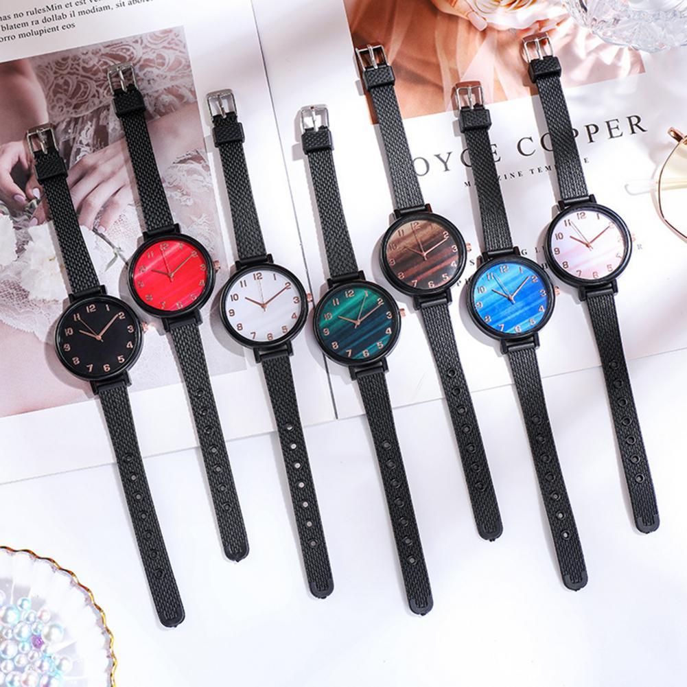 Waterproof stainless steel Women Watch Fashion Round Dial Ladies Quartz Wristwatch Bracelet Jewelry