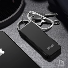Porte-clés Unique 3 En 1 avec le Type C Adaptateur Câble de Chargeur pour iPhone XS X 8 7plus Câble De Charge pour Huawei P20 pro mate 20 20X