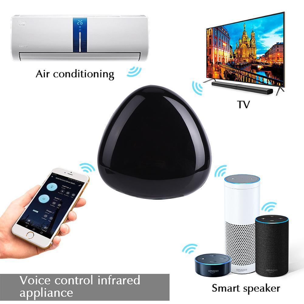 Control remoto WiFi Hub Tuya IR Control remoto Universal para electrodomésticos aire acondicionado TV Control Tuya Smart APP