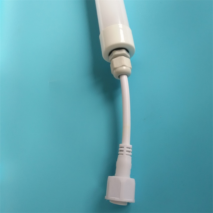 Free Shipping 1.2m 1.5m 16w 21w IP67 Waterproof LED Tube Light with milky cover 3 years warranty enlarge