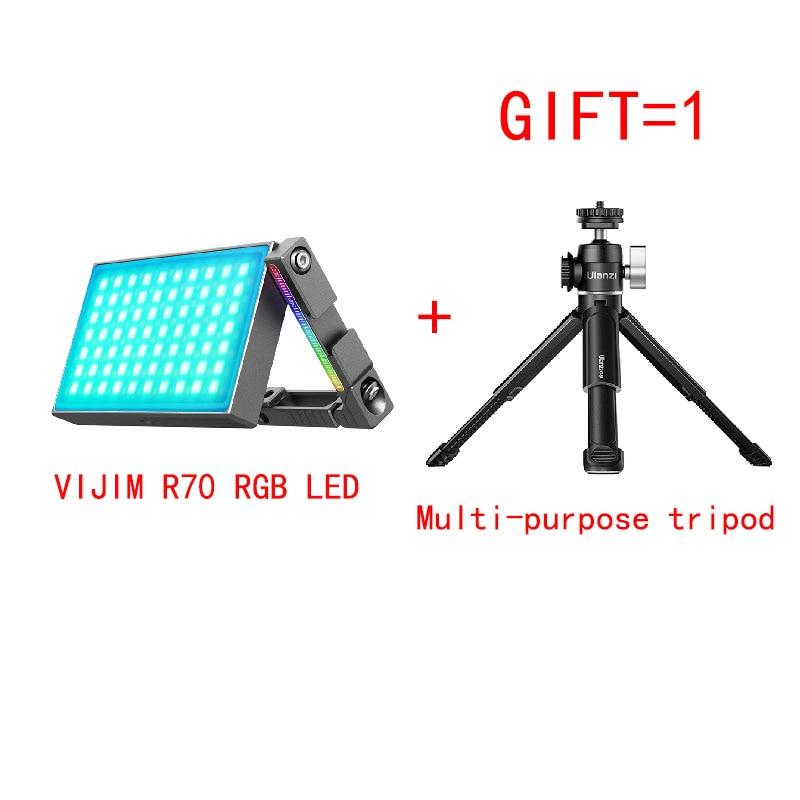 VIJIM R70 portable full-color RGB SLR as the fill light micro single camera photograph Vlog lighting lamps