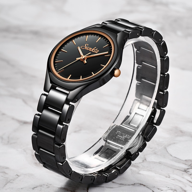 SUNKTA 2020 NEW Women watches Top Brand Luxury Women Dress Business Fashion Casual Waterproof Bracelet Watches Quartz Wristwatch enlarge