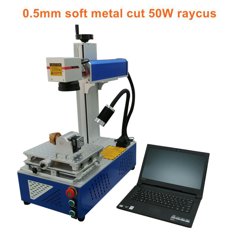 Mini fiber laser marking machine price with 20W 30W Raycus laser source laser marking machine photo with rotary axis the open source openpilot mini cc3d flight control traverse machine qav250 330 uses multi axis four axis equivalent to f3