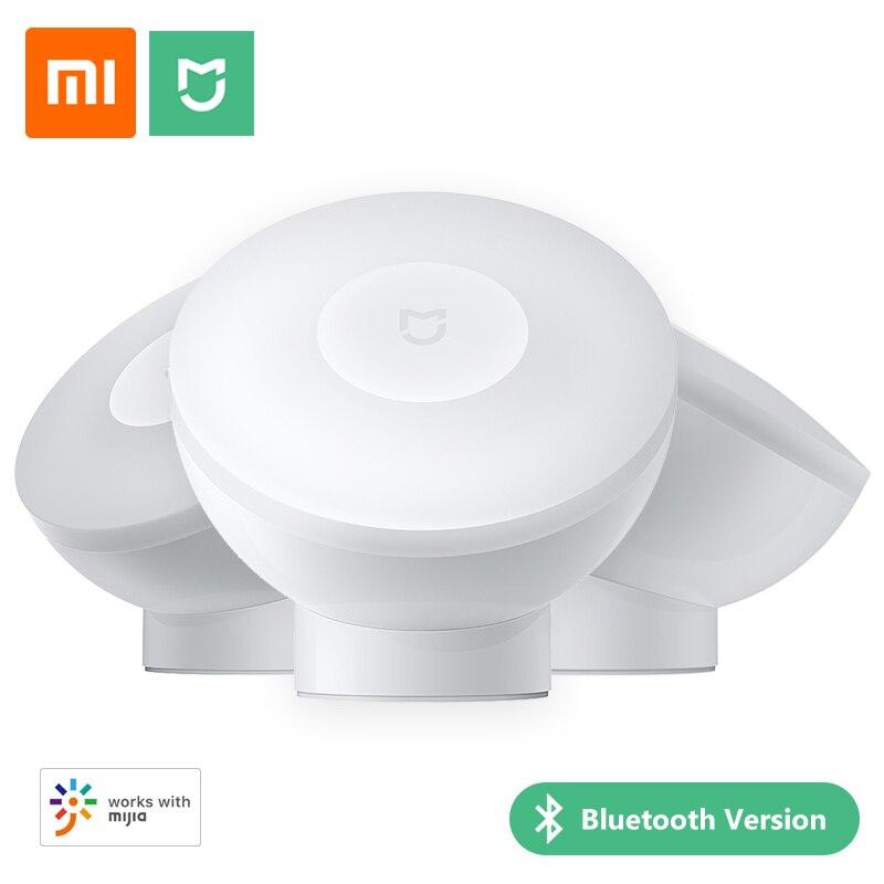 شاومي Mijia التعريفي ليلة مصابيح استشعار الحركة بلوتوث موصل App الإضاءة الذكية للمنزل الممر جدار غرفة نوم السرير