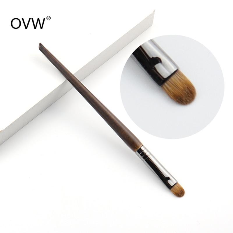 OVW Duo fibre Shader brosse synthétique et belette cheveux maquillage fard à paupières pinceaux pincel maquiagem 1 pièce beauté brochas maquillaje