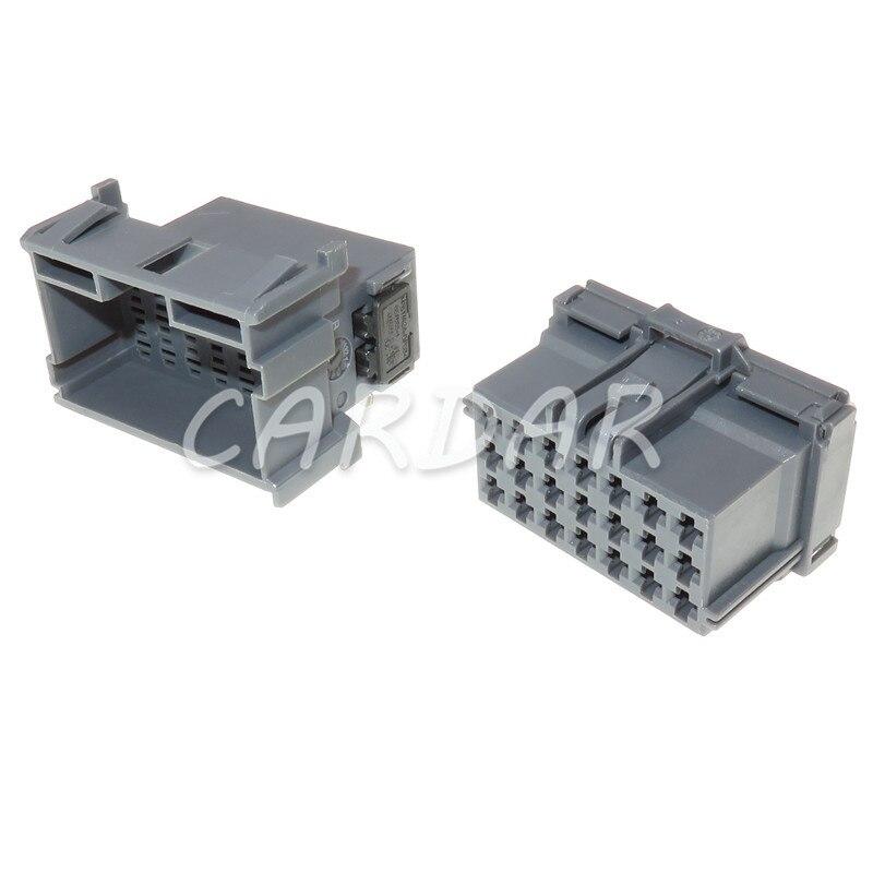 1 компл., 21 контакт, 8-968975-2, 1-967630-2, автомобильный разъем, автомобильная электрическая кабельная розетка с клеммами