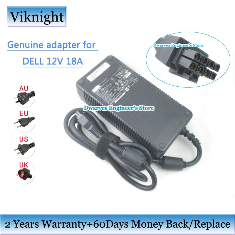 Genuine 220w ac power supply adaptador para Dell 12 0M8811 V 18A D220P-01 DA-2 N112H 745 755 GX760 GX620 SX280 ADP-220AB B D220P-01