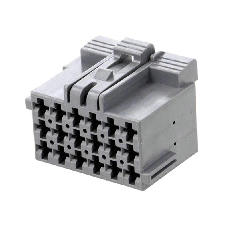 1 комплект покрытый 18 Pin-код 1-967624-1 Автомобильный Электрический разъем автомобильной вилки разъем с терминал