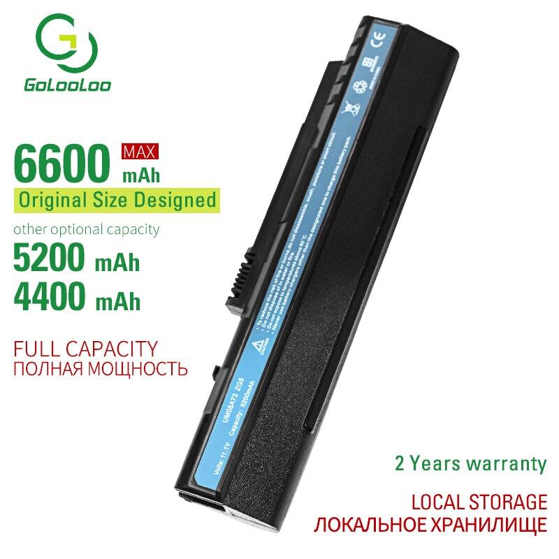 Golooloo 6 celdas de batería del ordenador portátil para Acer Aspire 10,1 8,9 A110 A150 D150 D250 KAV10 KAV60 P531h zg5 EMACHINES eM250