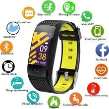 LIGE 2021 New Smart Bracelet Men Fitness Smart Wristband IP68 Waterproof Female Sports Tracker Smart