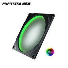 Ouverture de ventilateur LED colorée de PHANTEKS Halos 120mm 12V rgbcompatible avec le ventilateur de 12cm/longue commande synchrone de carte mère de vis