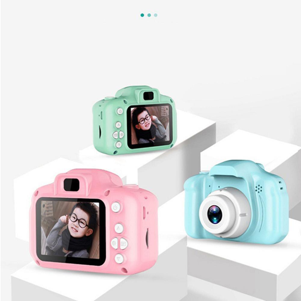 Child camera HD digital camera 2 inch Mini Kids cute cartoon Camera Photography toys Support TF Card