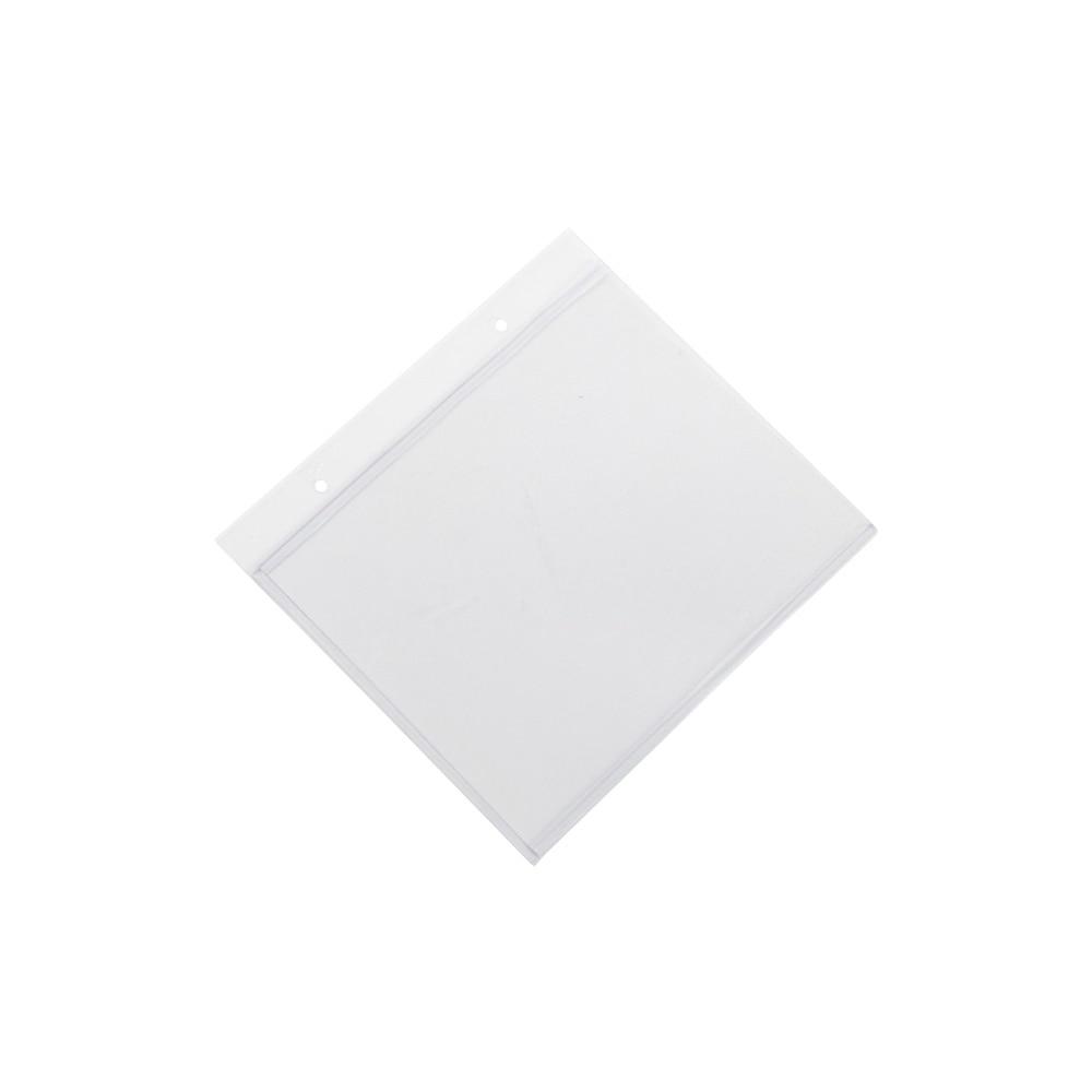 A6 понятное меню рукава Флип держатель знака ПВХ мешочек для бирки знак конверт плакат Крышка висит ценник карман
