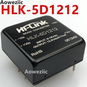 1Pcs/Lot HLK-5D1212 9-18V to 12V 420mA Mini DC To DC Converter/Step Down Module