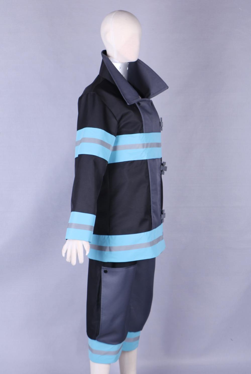 Force de feu Enen No Shouboutai Kotatsu Tamaki combat Costume équipe Cosplay Costume pompier uniforme tenues dhalloween