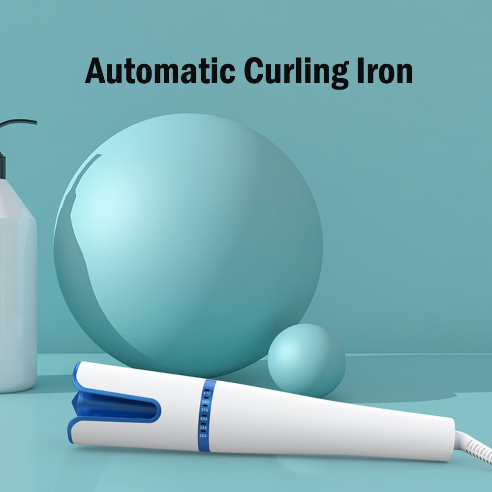 ferro de ondulacao giratorio novo modelador de cabelo 6 temperaturas ajustavel ceramica