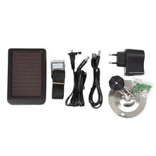 جديد لوحة شمسية في الهواء الطلق شاحن الطاقة الخارجية للصيد كاميرا Hc300 Hc500 Hc700 الاتحاد الأوروبي التوصيل