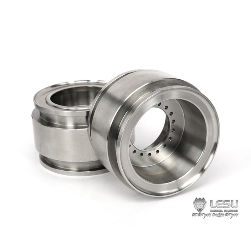 LESU 1/15 Metal Wheel Hubs for Loader RC Model Truck TAMIYA DIY Spare Parts TH02036-SMT5 enlarge