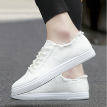 2021 new spring canvas shoes white shoes sneakers men's casual all-match cloth shoes men's shoes bre