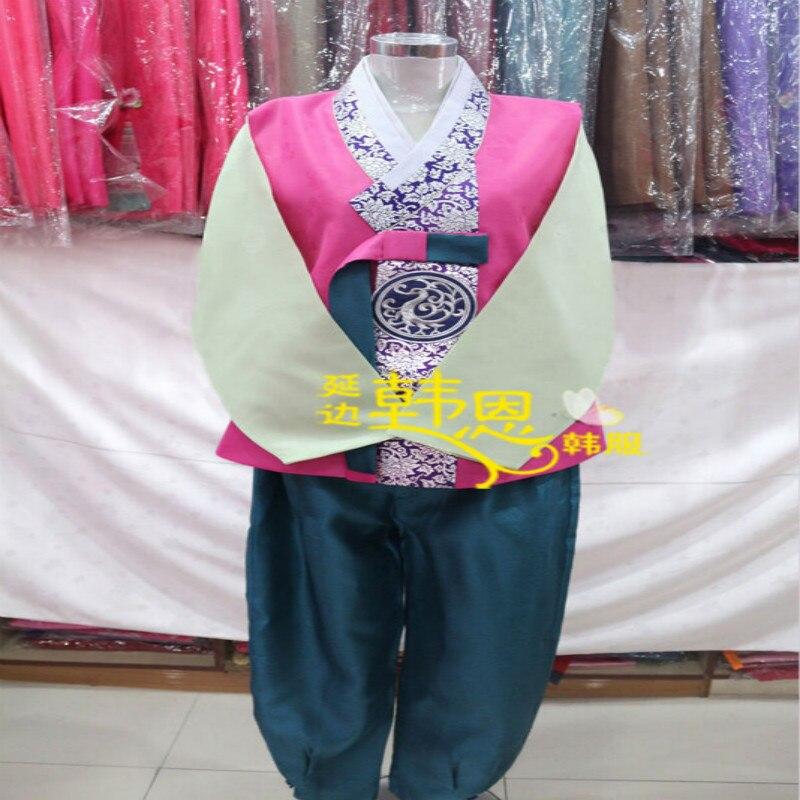 Feito sob Encomenda Quimono dos Homens Hanbok Vestido Coreano Tradtional Homem Festa Nacional Outfits Robe