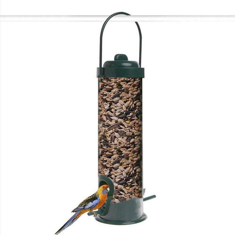 Alimentador de ave salvaje Para jardín, Comederos Para Pájaros, dispensador de alimentos...